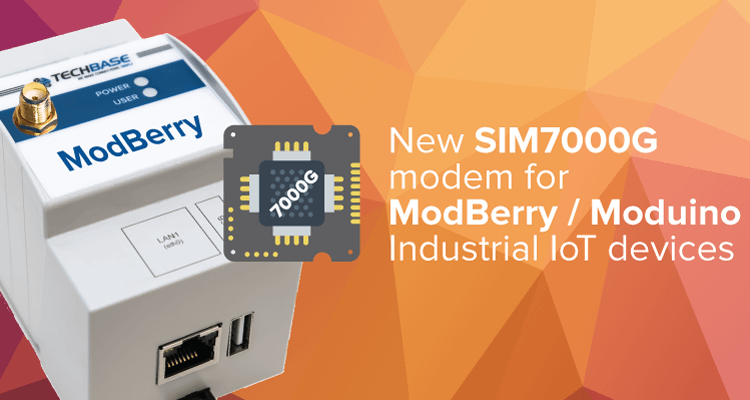 ModBerry / Moduino with SIM7000G