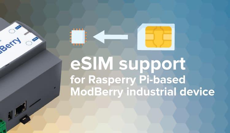 eSIM Raspberry Pi ESP32